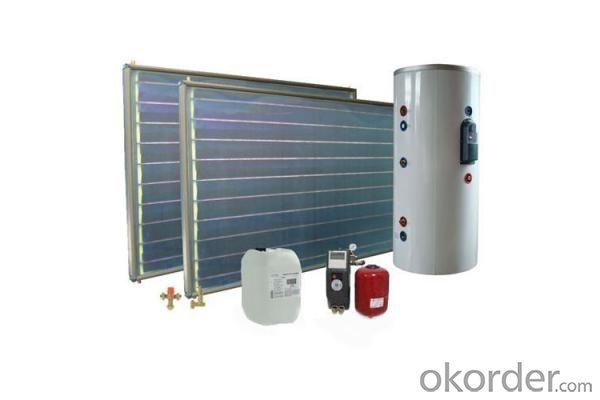 Pressurized Tank for (Solar) Water Heater