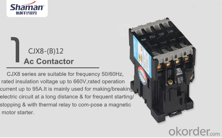 Buy ac contactor CJX8(B)-170 nds electric contactor ... Ac Contactor Wiring on