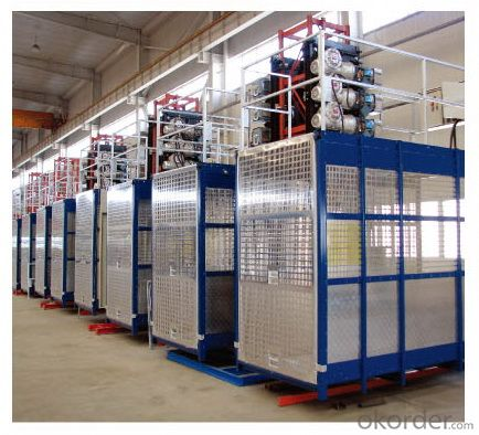 Frequency Conversion Construction Hoist /Material Hoist /Industrial Hoist /Lift /Elevator