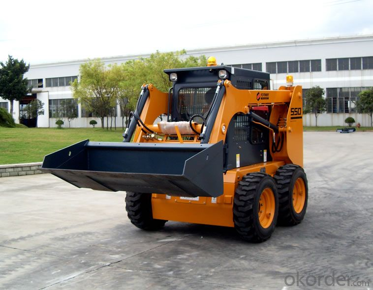 Skid Steer Loader with CE& ISO 9001
