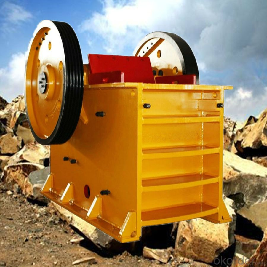 Stone Jaw Crusher with Gost Certificates