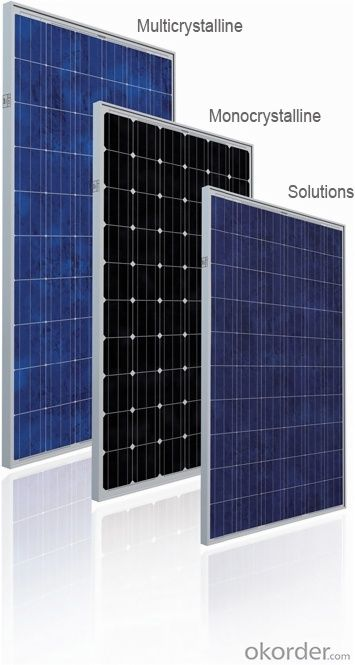 Solar Monocrystalline Series Panels for Exporting