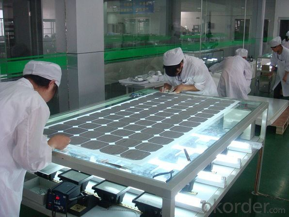 Solar Monocrystalline Series Panels Made in China