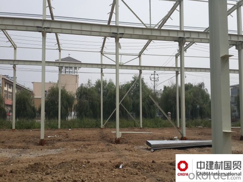 Steel Frame for Warehouse And Workshop H Steel Sectional Steel Structure for Structure
