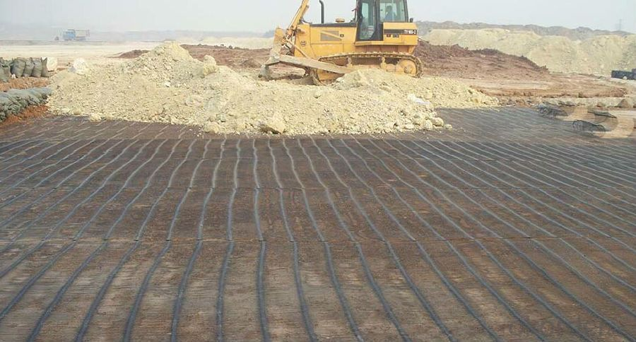 Fiberglass Geogrid Manufacturer for Airport Infrastructure Construction