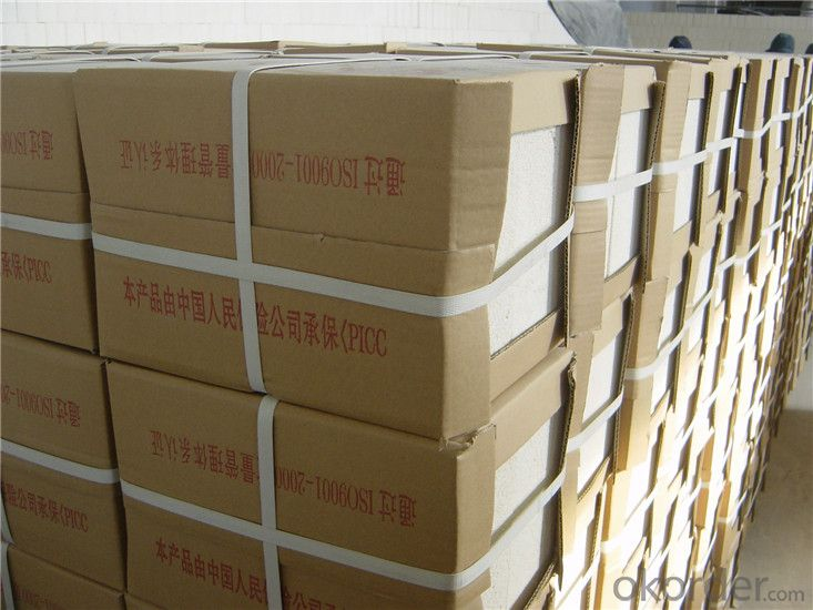 Unshaped Insulating Bricks Fire Clay Bricks for Furnace Use