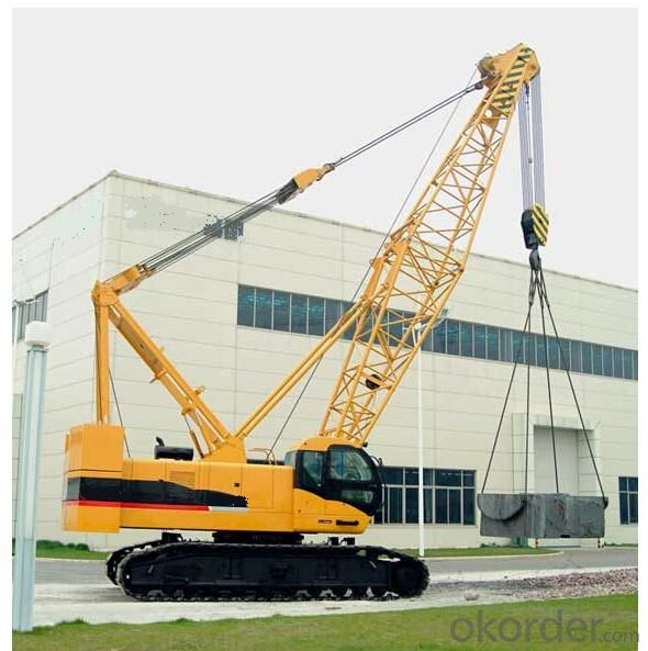 Crawler Electric Crane with Model of QY150 Mobile Crane Truck Crane