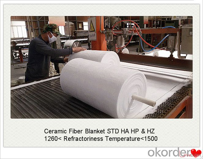 Actual High Temperature Ceramic Fiber Blanket for Hot Blast Furnace Made In China