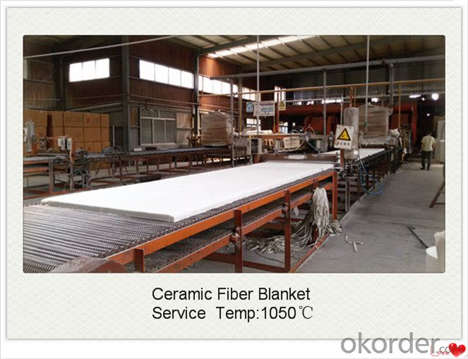 Thermal Insulation 1260std Spun Ceramic Fiber Blanket for Coke Oven Made In China