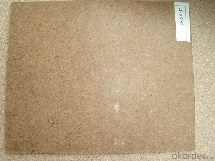 Supply 4.5-9.0mm Good Quality Wood Fiber Board