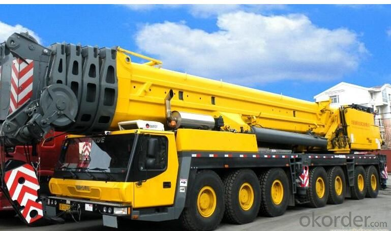 All Terrain Crane Truck Crane 3.5t Mobile Cranes QAY500 for Construction