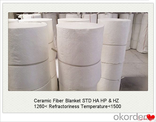 25x100x8000mm Ceramic Fiber Blanket for Steel Furnaces Made In China
