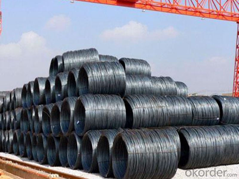 6mm hot rolled low carbon 1008B steel wire coil/steel wire rod