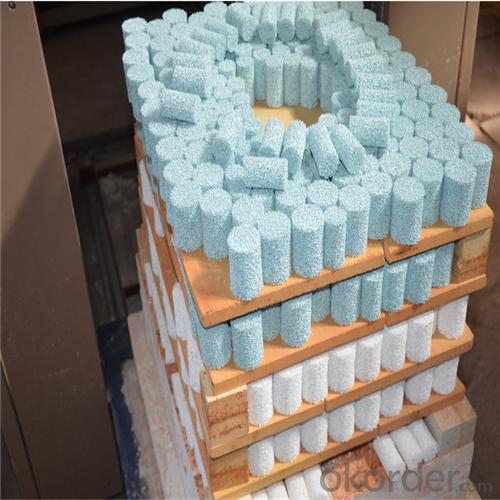 Alumina Circle  Ceramic Foam Filter for Foundry Industry