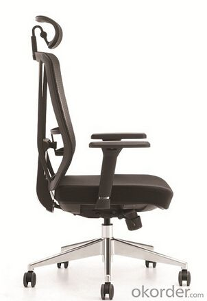 Ergonomic ProGrid Mesh-Back Chair With Headrest