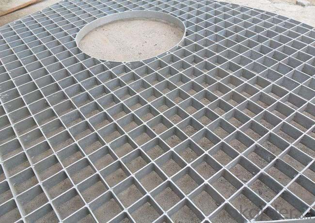 Low Price And Light Weight Oxidation Aluminum Alloy Grating Stairs Tread Steps
