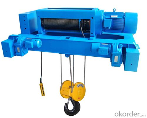 1500kg Electric Wire Rope Winch High Quality
