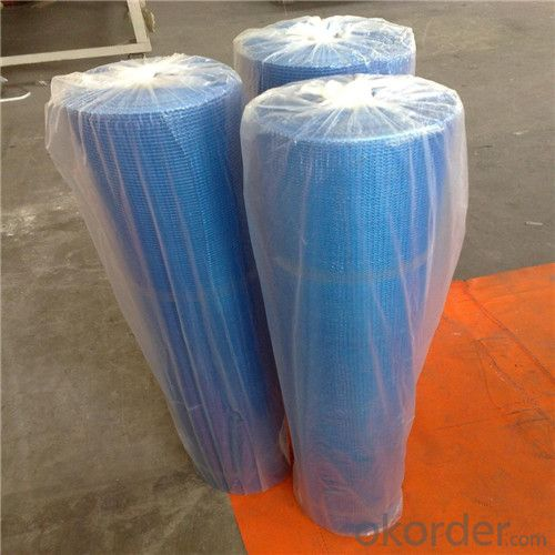 Alkali-Resistent Fiberglass Mesh Cloth 95G/M2 6*6/Inch With Good Tensile Strength