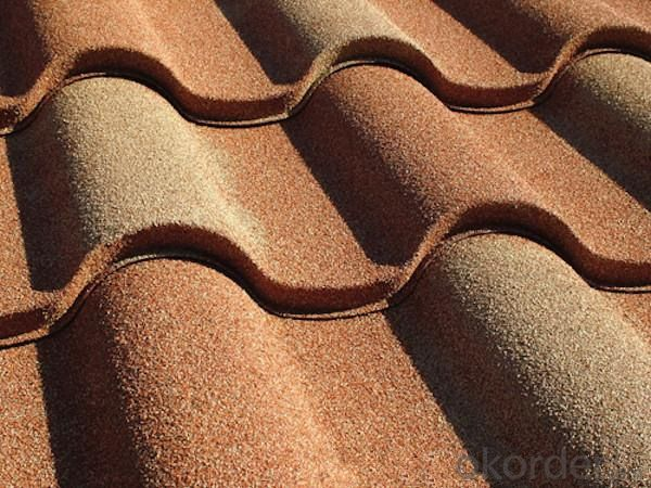 Steel Sheet Stone Coated Metal Roofing Tiles