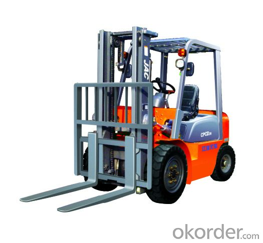 Forklift Truck Suitable for Lifting and Carrying in Narrow Ground