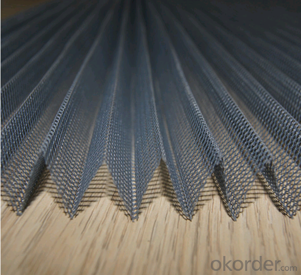 Buy Polyester Plisse Insect Screen Retractable Pleated