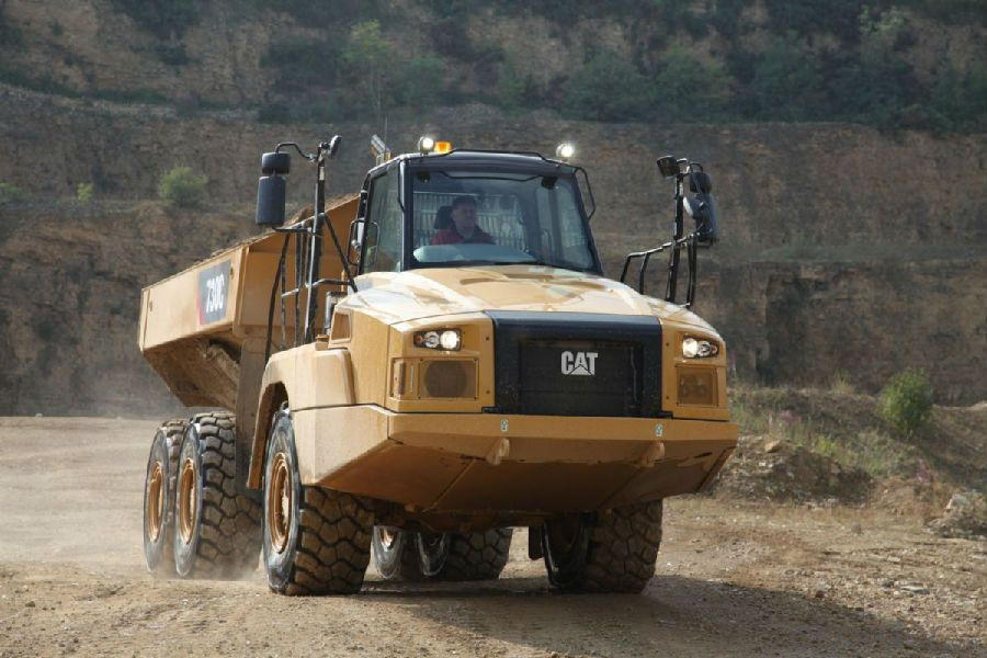 Dump Truck China Best Camc  with Narrow Star Type 6X2