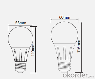 6.5W Indoor Led Bulb 3W 3.5W 4W 4.5W 5W 6W,Best Price,Hot Sales