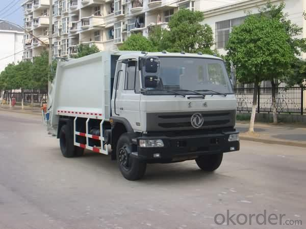 Compression Garbage Truck Heavy 4X2 8tons  10m3