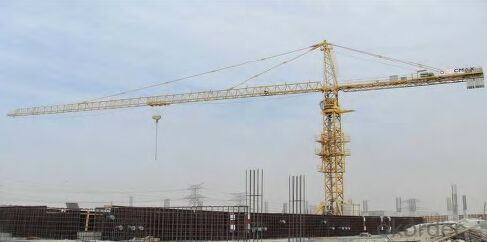 Model D5200-240 Tower Crane, with Good Safety Devices