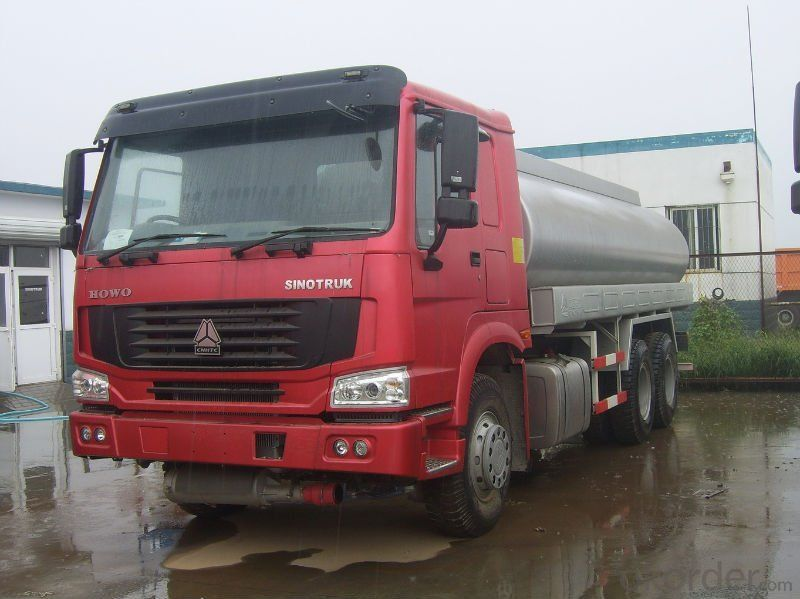 Fuel Tank Truck 8X4 M100 to Scania