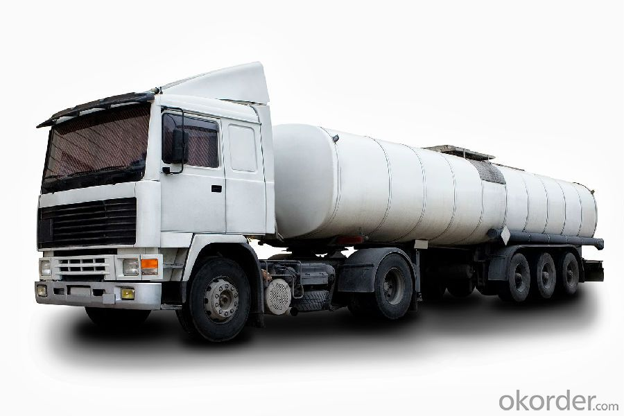 Fuel Tank Truck Df Q235 Carbon Steel Semi Trailer  (25-60M3)