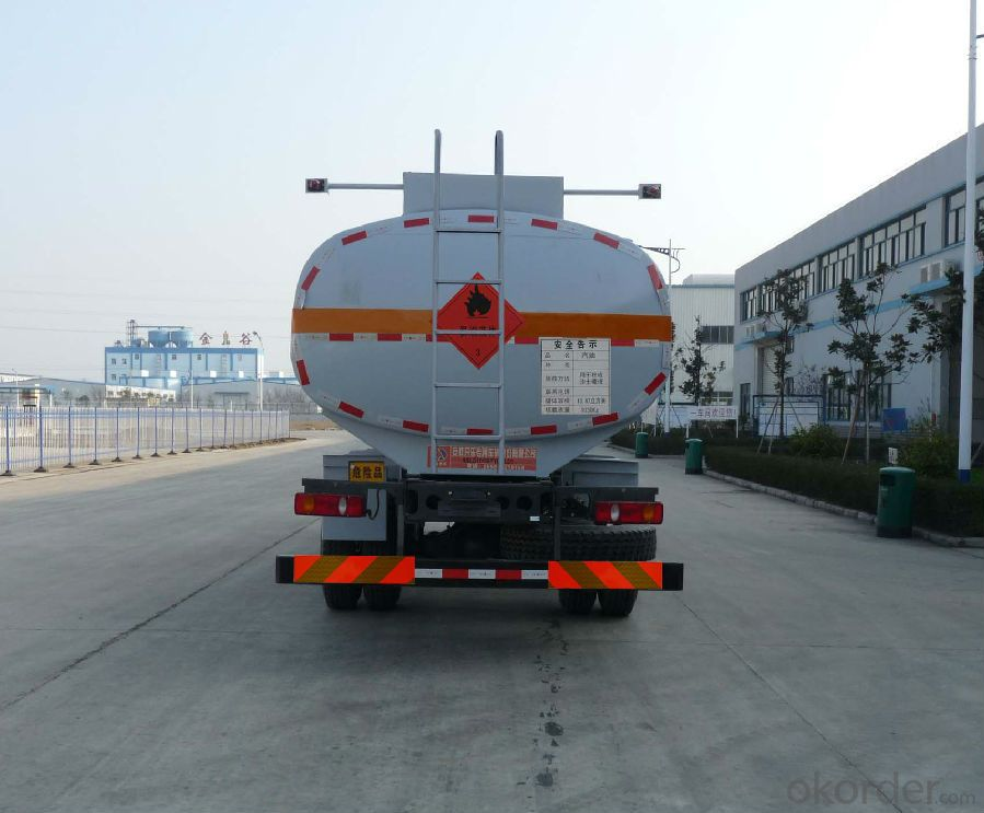 Fuel Tank Truck China Right Hand Drive 20cbm Capacity