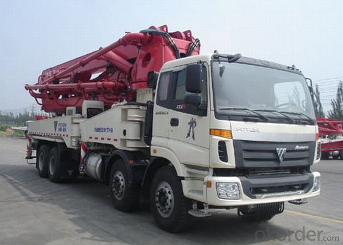 Concrete Pump Truck Hot Sale  of 24-58meters