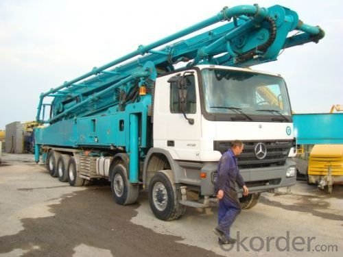 Buy Concrete Pump Truck 37m, 42m 47m Used Schwing Price,Size,Weight