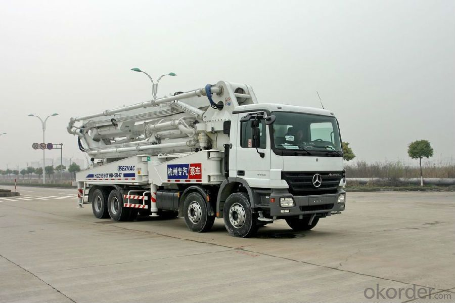 Mounted Concrete Boom Pump  Truck with CE