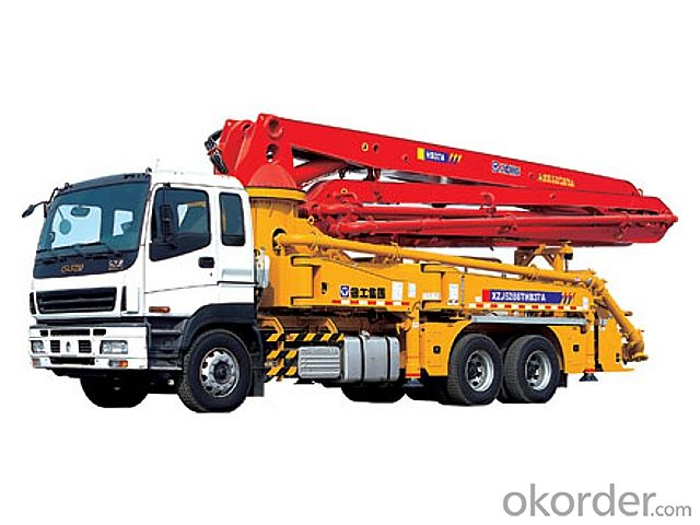 Concrete Pump  24m Truck Mounted