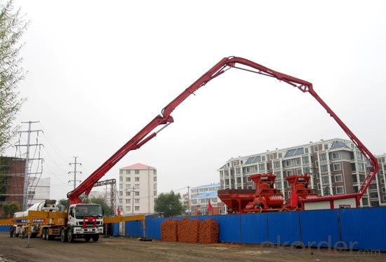 Concrete Pumps Truck-Mounted (HB37/A/B)