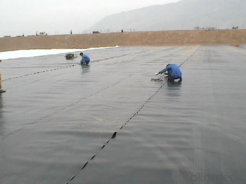 HDPE Geomembrane for Pond-lining Construction