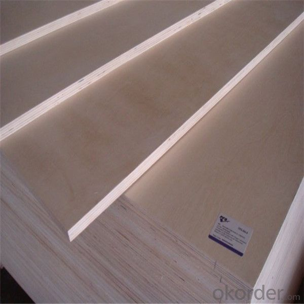 Hot Press Plywood Two Times Hot Press Made in China