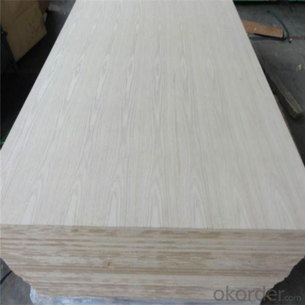 1220X2440mm Okoume plywood sheets E1 E0 glue Commercial Plywood