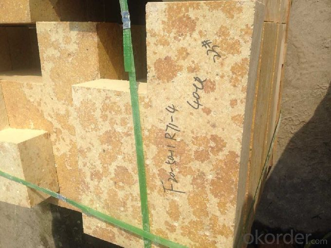 Refractory Silica Brick for Glass Furnace G-97A