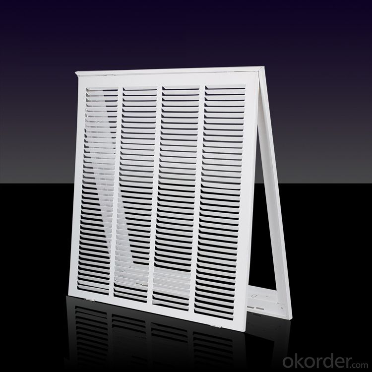 Steel Frame Air Diffusers Ceiling Vent