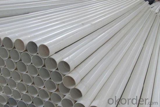 PVC Pipe with 110MM GB/T10002.1-2006 0.63-1.6MPa