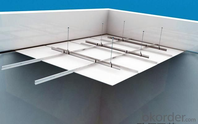 Aluminum Ceiling Suspended Decoration Ceiling Panel