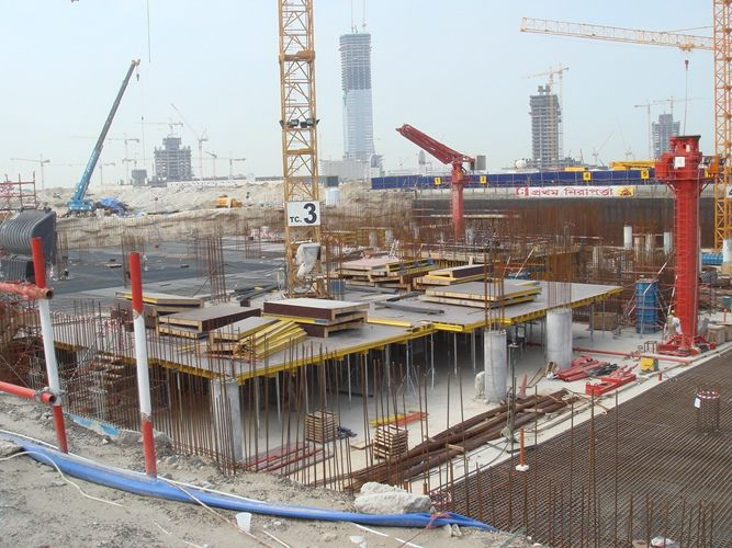 Table Formwork of  CONSTRUCTION FORMWORK SYSTEMS