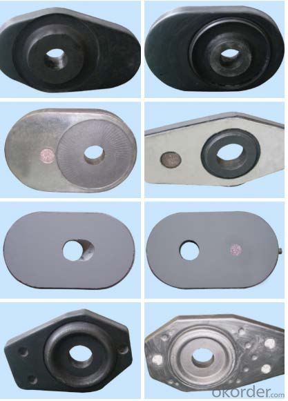 High Performance Sliding Gate With  Strong Oxidation Resistance For Refining Ladle, Tundish etc