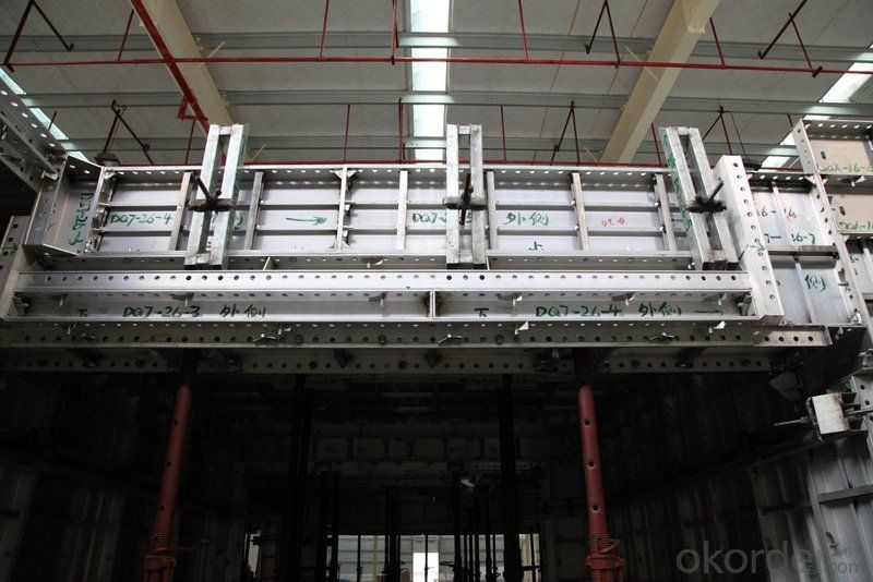 Whole Aluminum Formwork with Different Sizes