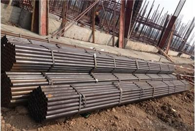 Welded Black ERW Steel Pipe ISO Standard