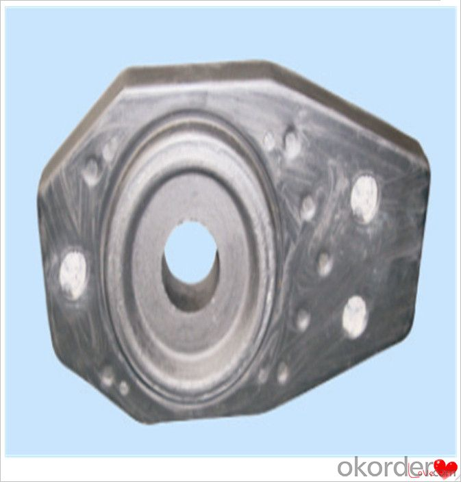 Bearing Bushing Refractory Slide Gate Plate for Steel Casting Erosion Resistance