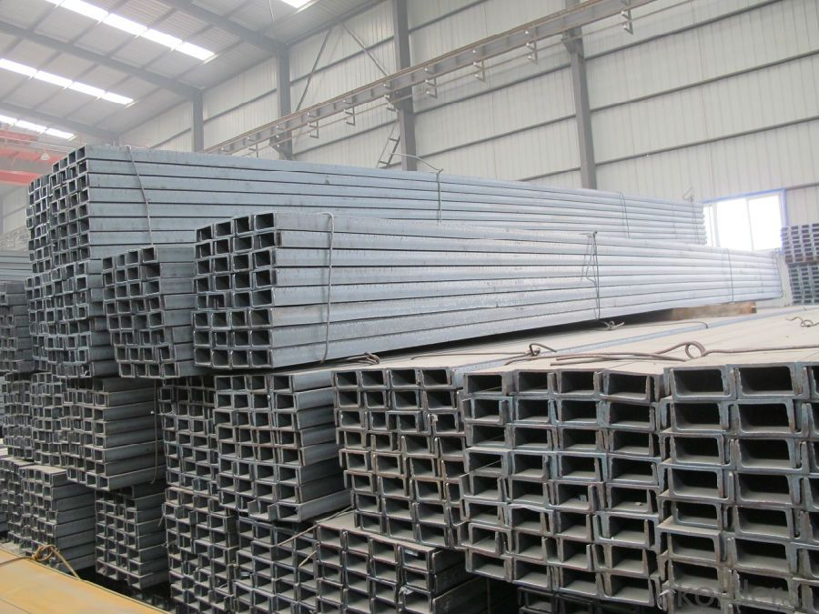 Hot Rolled U-channel Carbon Steel JIS Standard High Quality